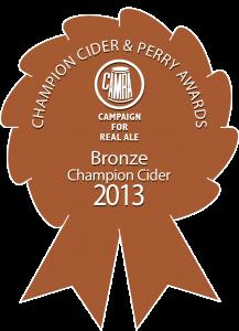 Cider Bronze 2013